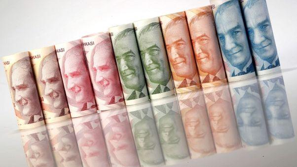 الليرة التركية تتراجع صوب مستوى قياسي منخفض أمام الدولار