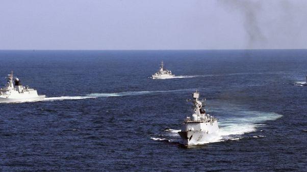 صحيفة: البحرية الصينية تجري تدريبات قتالية في بحر الصين الجنوبي