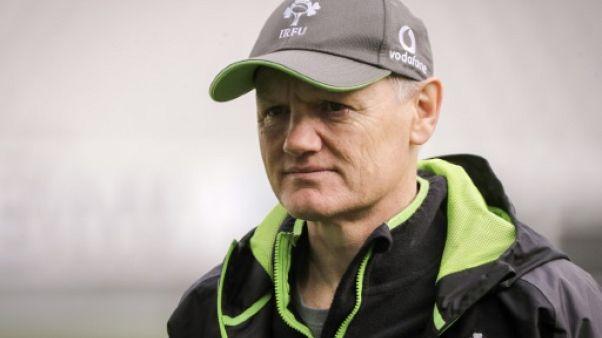 Rugby: Joe Schmidt en lice pour devenir sélectionneur des All Blacks après ses succès avec l'Irlande
