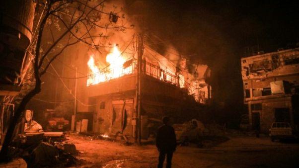 Syrie: le régime contrôle la quasi-totalité de la Ghouta orientale
