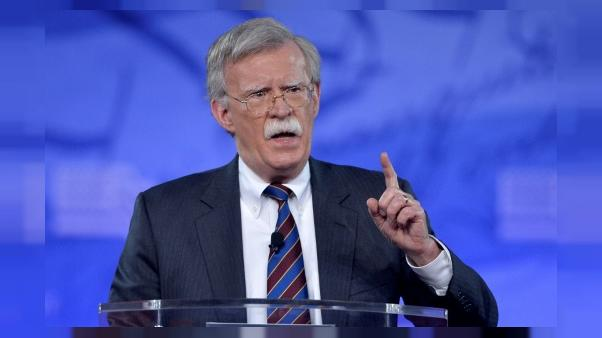 """John Bolton: """"ami"""" pour les Israéliens, vieil adversaire pour les Palestiniens"""