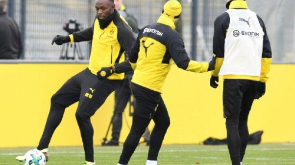 """Allemagne: quand la foudre """"Bolt"""" s'abat sur Dortmund..."""