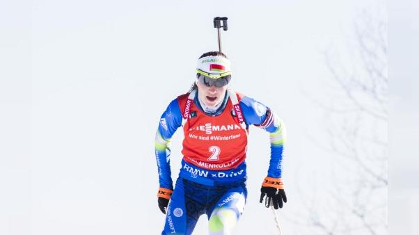 Biathlon: victoire de Domracheva, au sprint dames de Tioumen