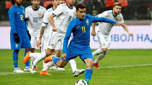 البرازيل تصعق روسيا بثلاثية في الشوط الثاني وديا