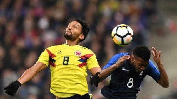 France-Colombie: coup de froid sur les Bleus