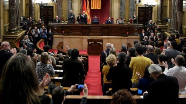 Catalogne: l'investiture du président régional suspendue, le candidat en prison
