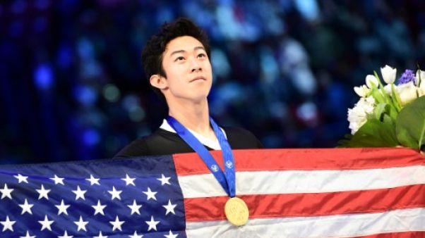 """Mondiaux de patinage: Chen, roi des """"quads"""" devenu roi du monde"""