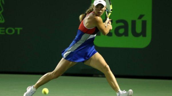 Tennis: Wozniacki dénonce les insultes et menaces du public de Miami
