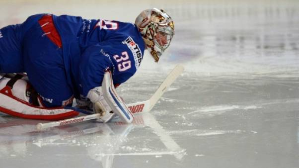 Hockey sur glace: fin de carrière pour Cristobal Huet, qui part sur une victoire