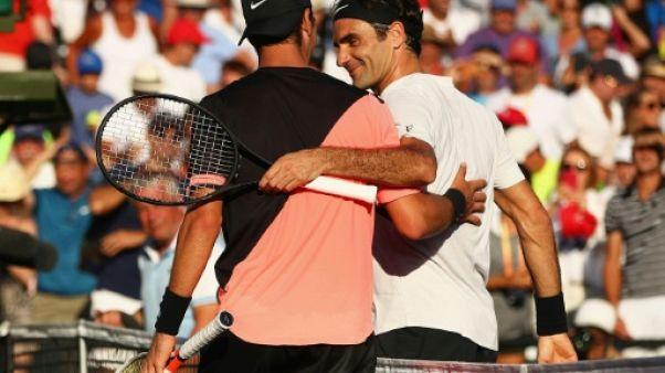 """Tennis: """"Terminer l'année N.1 n'était pas un objectif"""", déclare Federer"""