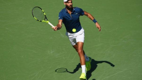 Tennis: Paire s'arrête au 3e tour à Miami