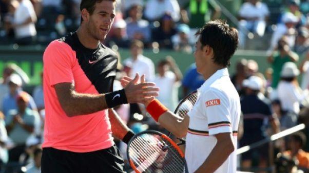 Tennis: Del Potro surclasse Nishikori à Miami