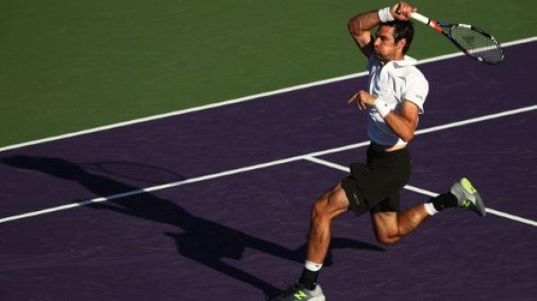 Tennis: Chardy, le rescapé à  Miami