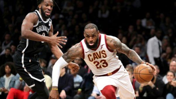 NBA: Golden State s'effondre, LeBron James s'envole