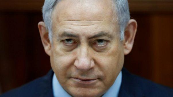 Netanyahu à nouveau interrogé dans une affaire de corruption présumée, selon les médias