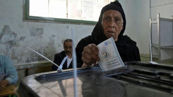 Les Égyptiens votent, deuxième mandat assuré pour Sissi