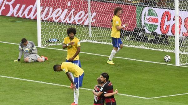 """Amical: Allemagne-Brésil, le 7-1, une blessure """"encore ouverte"""""""