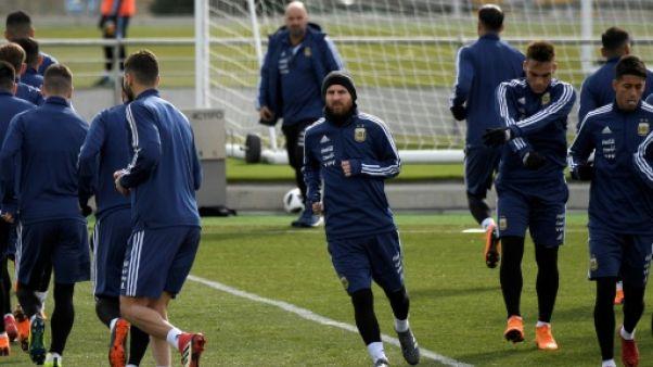 Amical: Espagne-Argentine, Messi contre les Barcelonais