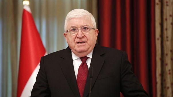 رئيس العراق: ندعم اتفاق خفض إنتاج النفط بقيادة أوبك