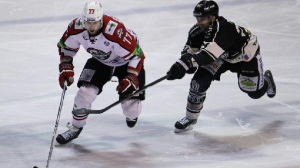 Hockey sur glace: Rouen à une victoire du titre