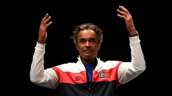 Coupe Davis: Noah n'a pas l'embarras du choix contre l'Italie