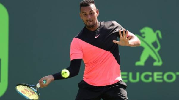 Tennis: Kyrgios et Verdasco s'expliquent sur Twitter