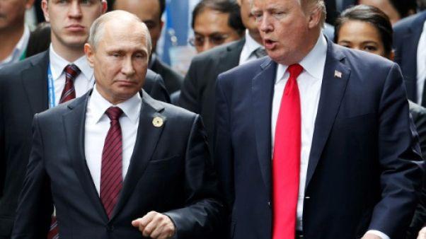 L'expulsion de diplomates, une nouvelle épine dans les relations Trump-Poutine
