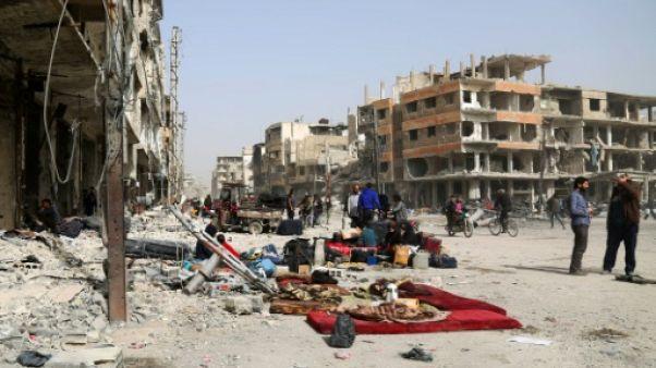 Le régime syrien et Moscou menacent les derniers rebelles de la Ghouta