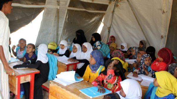 Deux millions d'enfants non scolarisés au Yémen, selon l'Unicef