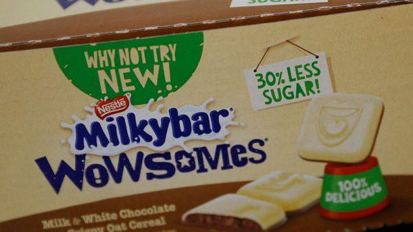 نستله تطلق نوعا جديدا من الشوكولاتة بنسبة سكر أقل 30 بالمئة