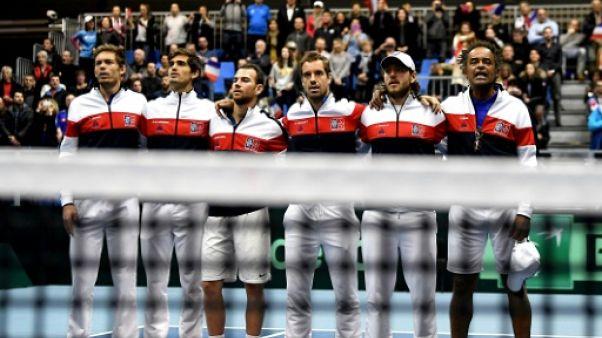 """Coupe Davis: la France vers un changement d'ère sans ses """"néo-Mousquetaires"""""""