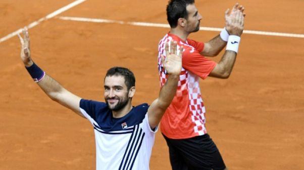 Coupe Davis: Cilic mènera la Croatie face au Kazakhstan en quarts de finale