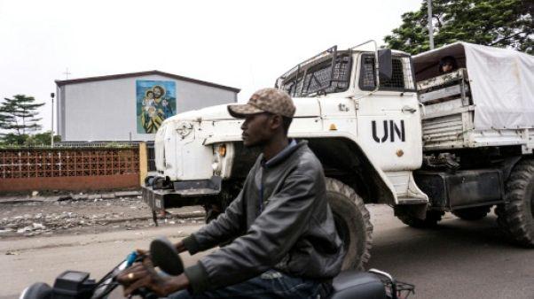 RDC: le rôle des Casques bleus renforcé en vue d'une élection cruciale