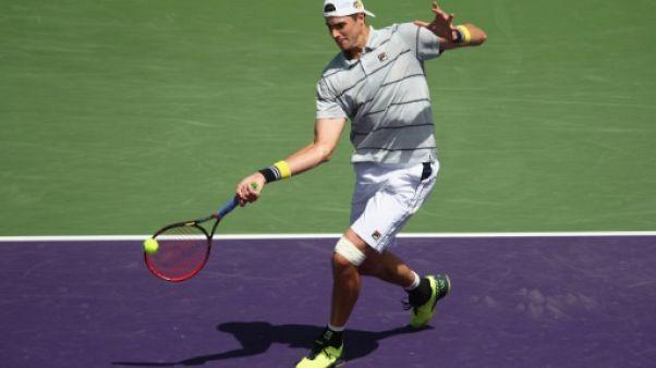 Tennis: Isner étouffe Cilic en 8e de finale à Miami