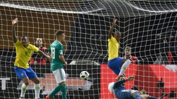 Mondial-2018: le Brésil bat l'Allemagne 1-0 et éloigne le fantôme de 2014