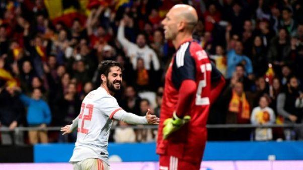 Mondial-2018: l'Espagne brille, Brésil et France en bon ordre en préparation