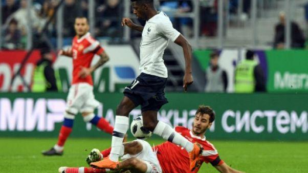 Russie-France: des cris de singes contre Ousmane Dembélé