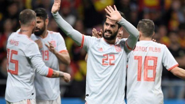 Mondial-2018: l'Espagne d'Isco donne le tournis à l'Argentine sans Messi
