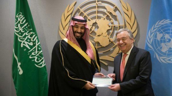 Yémen: l'ONU presse l'héritier saoudien pour une issue politique