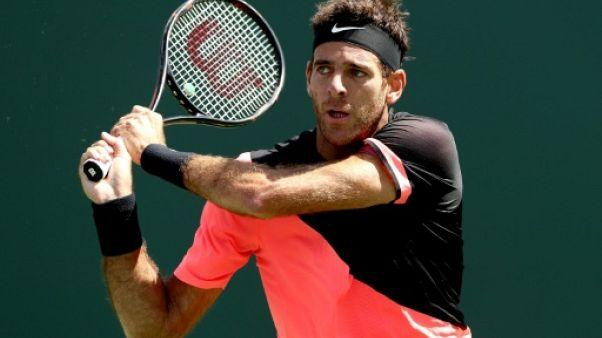 Tennis: Del Potro poursuit sur sa lancée à Miami
