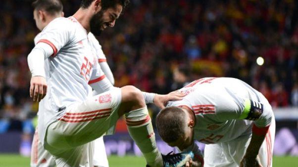 """Victoire 6-1 de l'Espagne sur l'Argentine: un """"chef d'oeuvre"""" selon la presse"""