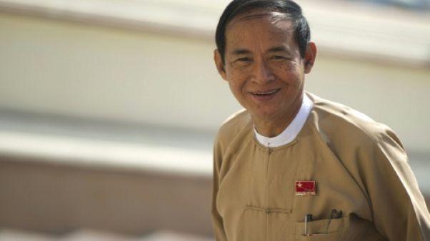 Birmanie: Win Myint, proche d'Aung San Suu Kyi, élu président
