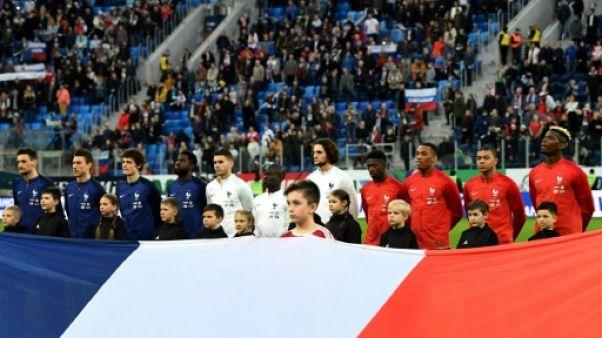 Mondial-2018: les Bleus guère plus avancés