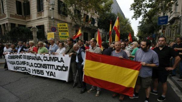 Catalogne: l'extrême droite s'immisce dans les poursuites contre les indépendantistes