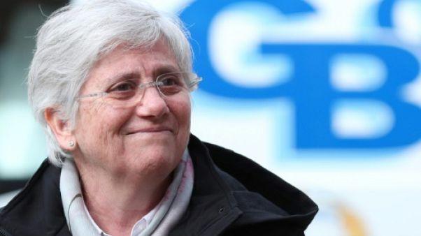 L'indépendantiste catalane Clara Ponsati, exilée en Ecosse, s'est rendue à la police (AFP)
