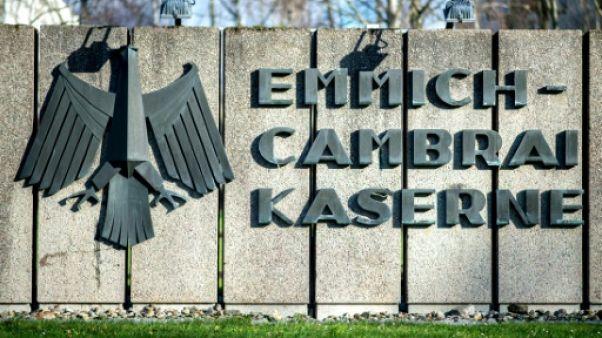 L'Allemagne rebaptise une caserne pour lancer sa réforme des traditions militaires
