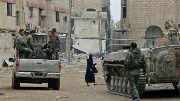 Le régime syrien renforce sa présence autour de l'ultime poche rebelle dans la Ghouta