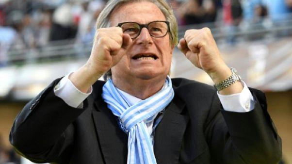 Top 14: avertissement pour le président du Racing 92, Jacky Lorenzetti