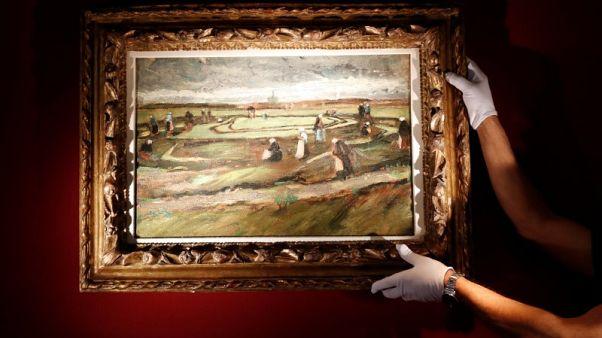 توقعات ببيع لوحة منظر طبيعي لفان جوخ بملايين الدولارات في مزاد
