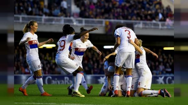 Ligue des champions dames: Lyon se qualifie pour les demies